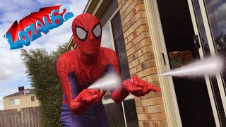 SPIDERMAN VS DEADPOOL Real life Action Video