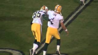 Brett Favre's MNF Game After His Dad Passes Away | This Day in NFL History (12/22/03)
