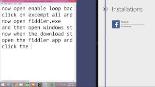 Download windows store apps using IDM
