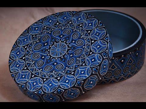 Как сделать точечную роспись шкатулки? Вытворяшки - Vidqo.com Youtube of Pakistan Watch Online youtube Videos Download HD videos
