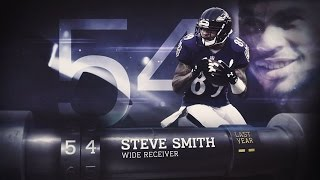 #54 Steve Smith (WR, Ravens)   Top 100 Players of 2015