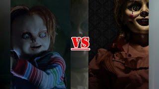 batalha mortal chucky vs annabelle