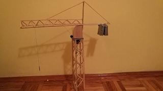 How To Make Model Of Crane