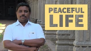 Peaceful Life by Dindigul P.Chinnaraj Astrologer INDIA