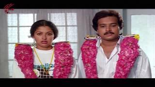 First Night Scene Between Karthik & Gautami || Bangaru Papa Movie || Gautami, Karthik
