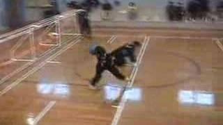 Goalball USA vs Japan