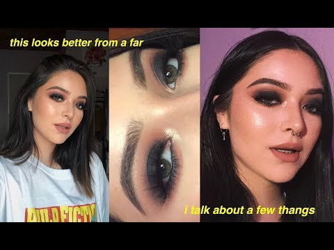 i attempt a smokey eye after 2 years and fail