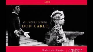Don Carlo. Giuseppe Verdi. Karajan.