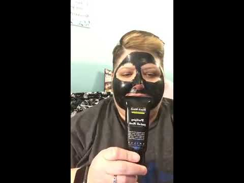 Charcoal Face Mask Gone Wrong OFFICIAL