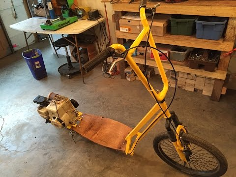 Xxx Mp4 Home Made Motorized Scooter 3HP Part 2 3gp Sex