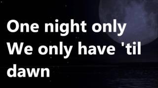 One night only karaoke Male contertenor