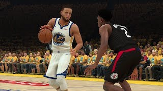 Golden State Warriors vs Los Angeles Clippers – Game 1 NBA Playoffs 2019 Full Game  NBA 2K19 4/13/19