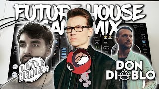 Future House Gang Mix (Pioneer XDJ-RX) - Live Mix {Don Diablo, Oliver Heldens, Curbi}