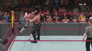 WWE Extreme Rules Seth Rollins vs Dolph Ziggler Iron Man Match (WWE 2018)