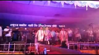 Beharbari outpost's muhon kk and rakesh's stage show