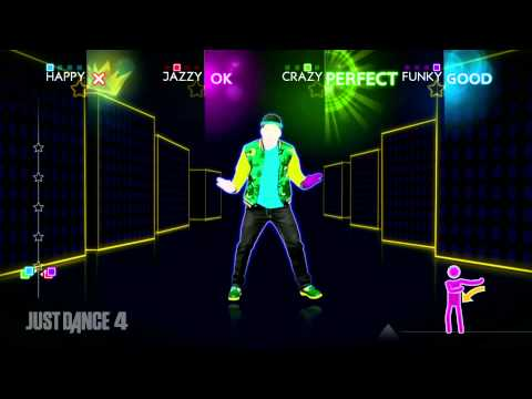 Flo Rida Good Feeling Just Dance 4 Gameplay