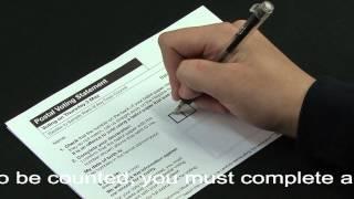 Flexi-vote 20 Postal Vote Video