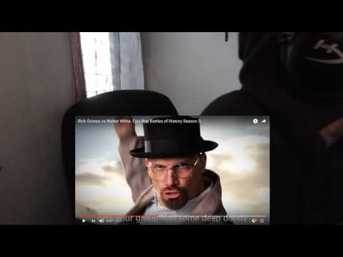 Rick Grimes vs Walter White. Epic Rap Battles of History Season 3. REACTION!!!