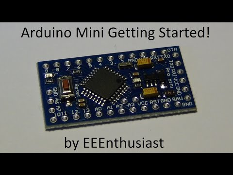 Arduino Mini Getting Started - USB to Serial Communication