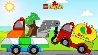 LEGO Police, LEGO Tow Trucks | Cartoon about LEGO Police Car | LEGO Duplo Games For Children