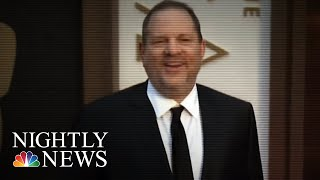 Harvey Weinstein Expected To Surrender In Sexual Misconduct Case In Manhattan | NBC Nightly News