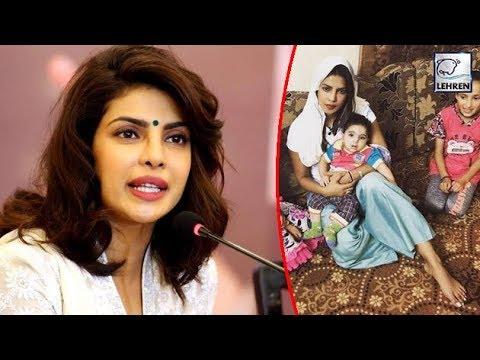 Priyanka Chopra Shuts Down Trolls On Her Initiative For Jordon Refugee Kids | LehrenTV