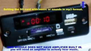 autoplay mp3 sound or music when power on