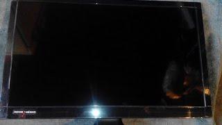 televisores que entrega la sedesol unboxing desempaquetado (GARSR)