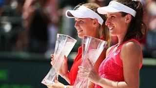 2017 Miami Open Final | Johanna Konta vs Caroline Wozniacki | WTA Highlights