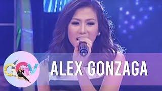 Alex Gonzaga sings 'Panaginip Lang' on GGV!