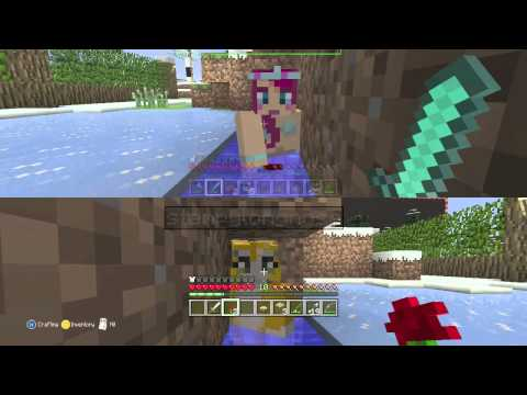 Minecraft Sneak peak with Amy Lee33 and Stampy Longnose