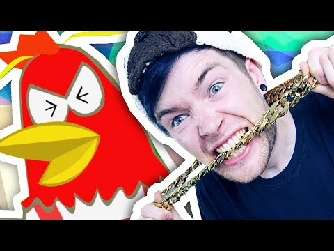 RAPPING WITH AN ANGRY CHICKEN