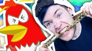 RAPPING WITH AN ANGRY CHICKEN!!!