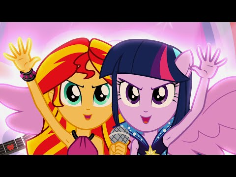 Welcome To The Show Song - MLP: Equestria Girls - Rainbow Rocks!