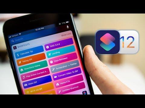 iOS 12 Shortcuts App: Walkthrough & Creating Your First Siri Shortcut!