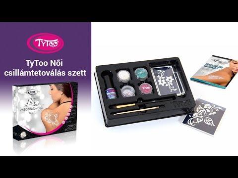TyToo Női csillámtetoválás szett [Termékbemutató]