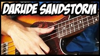 Darude Sandstorm Meets Slap Bass
