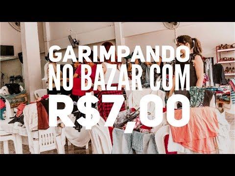 Garimpando no BAZAR com R$7,00 | Trashy Fame