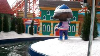 Dora the explorer at blackpool pleasure beach the ride nickelodeon land