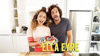 Cooking With Friends | Ella Eyre | American Style Blueberry Pancakes | The Body Coach