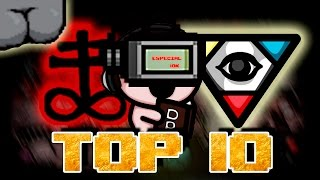 Los mejores Items | Top 10 : The binding of Isaac Rebirth (Afterbirth).Especial 10000