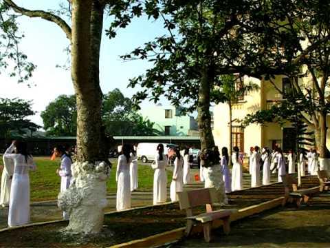 GĐ.THĐ--Lễ Khai Giảng 5/9/2010 [ Tran Hung Dao High School ]TP.Nam Định