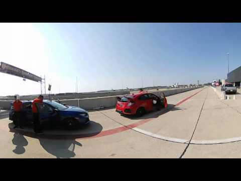 Honda Civic Type R Track Day!