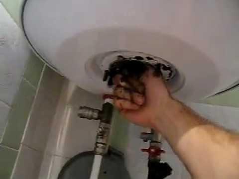 Чистка бойлера своими руками видео