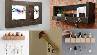 DIY Wooden Key Holder for Wall Ideas - Diy Home Decor Ideas Easy
