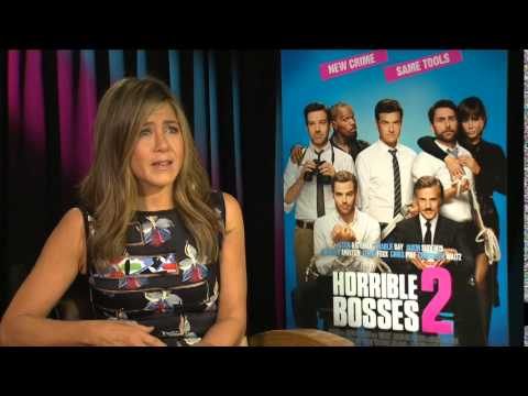 Jennifer Aniston HORRIBLE BOSSES 2 FULL Behind The Scenes with Scott Carty