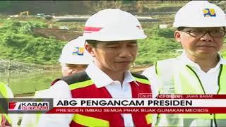 Tanggapan Presiden Jokowi Soal ABG Yang Mengancamnya