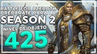 Battle for Azeroth Season 2: Todo lo que Necesitas Saber