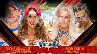WWE Wrestlemania 33 - Predictions Card - HD