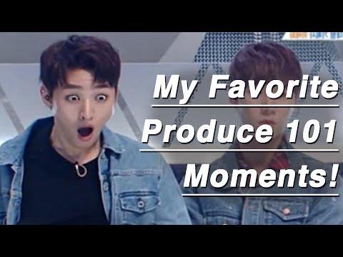 My Favoitre Produce 101 Season 2 moments ep 0 11